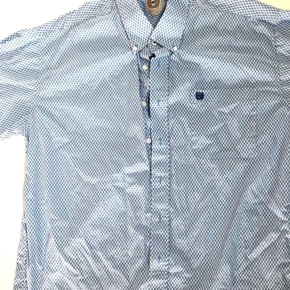 Cinch Men's Button-Down Shirt Size Large